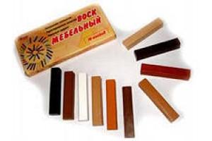 Реставрационные материалы для мебели - воски, штрихи, фломастеры