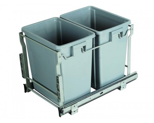 Контейнер для отходов двойной DIANA-2 (2х8л) Модуль 300