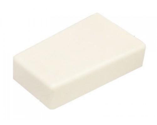 Декоративная заглушка для регулируемого подвеса COMAR CHP01/W/L белая левая