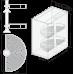 Поворотная корзина KRP01/800