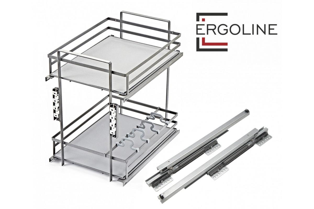 Выдвижные корзины для кухни (80+ фото) Механизмы карго, Цены ... | 800x1200