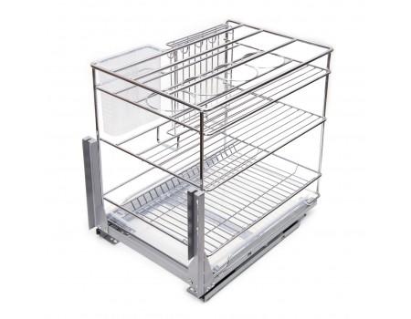 Выдвижная корзина для кухни TRIO KR22/2/3/400