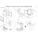 Выкатная корзина для кухни VIRTUS KRM01/900-1000/L