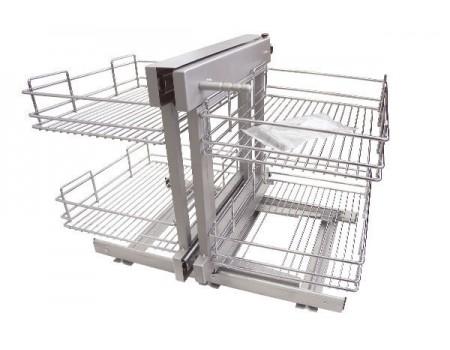 Выкатная корзина для кухни KRM03/800-900/L