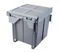 Контейнер для отходов двойной (2х16л +2лотка+поддон) Модуль 600