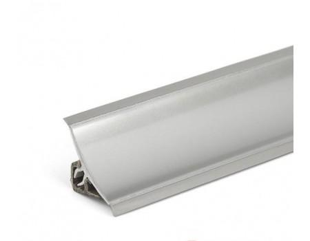 Плинтус для столешницы 3 м, металлик (A)