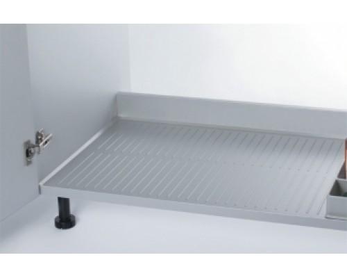 Поддон гигиенический на дно кухонной секции  1200 мм., алюминий