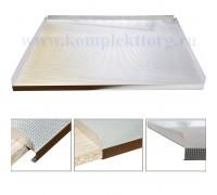 Поддон гигиенический на дно кухонной секции  450мм., алюминий