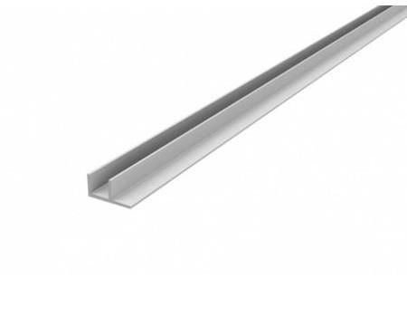 Профиль 4 мм, угловой F-обр., L-600 мм, алюминий