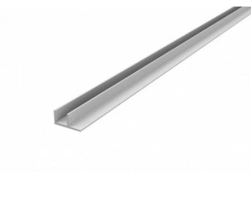 Профиль для кухонной стеновой панели 4 мм, угловой F-обр., L-600 мм, алюминий