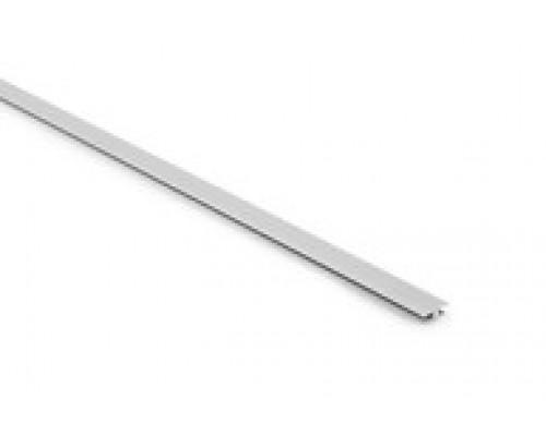 Профиль соединительный для кухонных вкладок под ложки-вилки (лотков) L490 мм серый