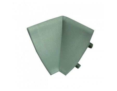 Уголок для плинтуса, внутренний металлик