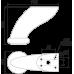 Мебельная опора N205CP.2