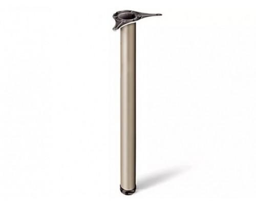 Нога 870х60, сатин / никель матовый
