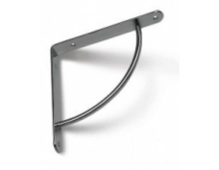Полкодержатель 220х220 мм., никель
