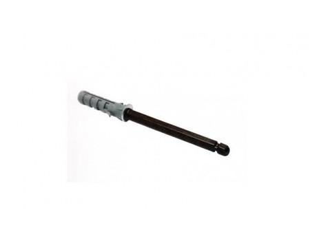 Менсолодержатель скрытого монтажа 10x145 мм коричневый