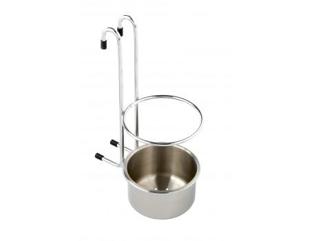 Навесной стакан для столовых приборов SRK502/CP
