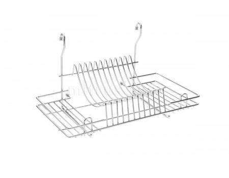 Сушилка для посуды на рейлинг 445х272х255 мм, хром