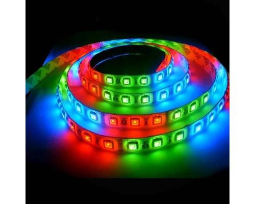 LED лента, 5050 RGB 3м/300 LED, 12В, 14,4 Вт/м,