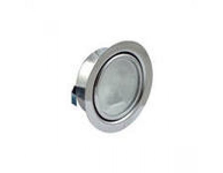 LED (врезной) 220В, 4Вт, 3000К, Никель матовый