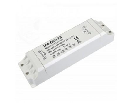 60 Ват, Преобразователь для LED 12 V, ip20,170х53х18 мм с защитой от перегр.и КЗ.