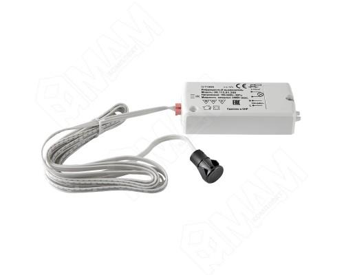 Выключатель ИК от движения руки до 8 см 220 В,250 Вт,D датчика 14 мм