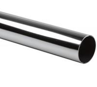 Труба хром, 3 м., диам.25 мм., 0,8 мм.