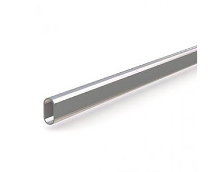 Труба овальная 3000*30*15 мм.сталь, хром