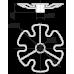 Центральная полка для бокалов SPK102/CP