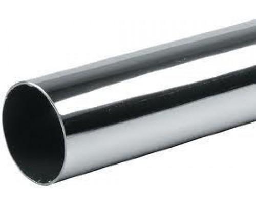 Труба 50х3000х1 мм., сталь/хром