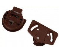 Зацеп верхний коричневый 35 мм
