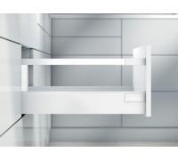 """Ящик antaro Blum высокий фасад высота """"D"""", царга M + держ. вставки. Выберите цвет царг и глубину."""