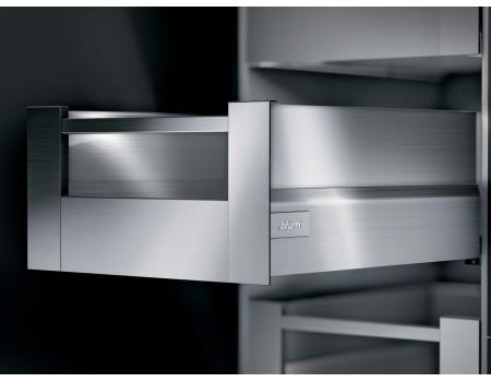 Ящик intivo Blum внутренний высокий с держателем вставки. Выберете цвет царг и глубину.