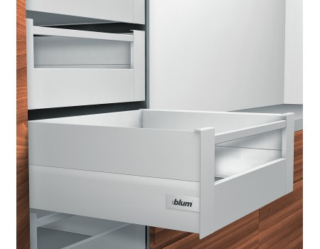 Ящик intivo Blum внутренний высокий с метал. боковинами BOXCAP. Выберите цвет и глубину ящика.
