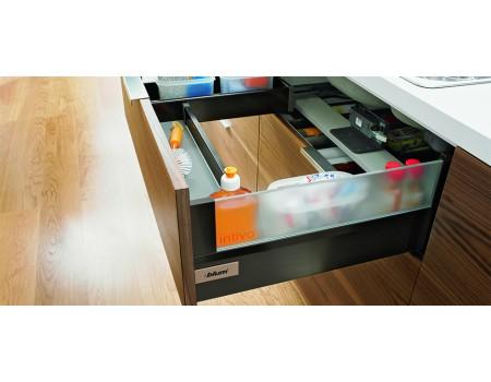 Ящик intivo под мойку, с держателями вставок.Выерите цвет и глубину.