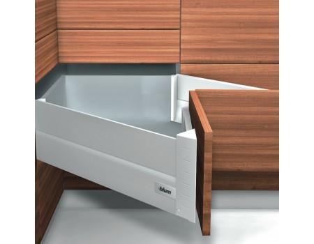 Угловой ящик Antaro Blum с металлическими боковинами глубиной 650 мм. Выберете цвет.