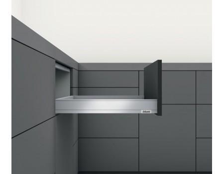 LEGRABOX pure N - низкий 66.5мм, Выбрать цвет царг и глубину.
