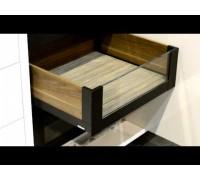 LEGRABOX free C - внутренний со вставкой. Выбрать цвет царг и глубину.