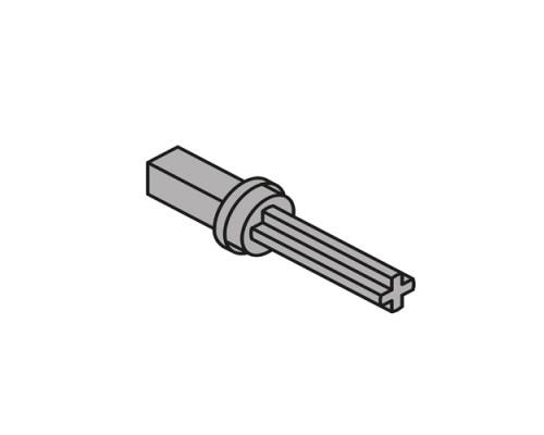 Адаптер к валу для синхронизатора TIP-ON BLUMOTION Legrabox/MOVENTO, симметричные