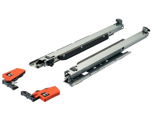 Направляющие  скрытого монтажа Tandem с Blumotion 250-550мм частичного выдвижения(с доводчиком). Выберите размер.