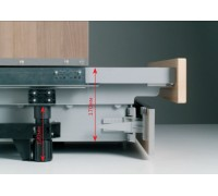 Цокольный ящик на основе TANDEMBOX 500мм высота 100 мм