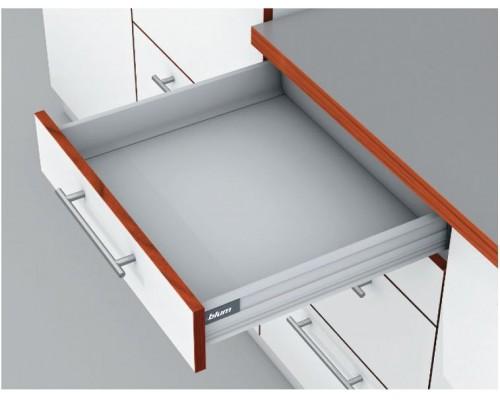 TANDEMBOX M (высота царги M). Выберите цвет и глубину ящика.