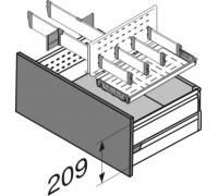 Ящик с лотком для бутылок с боков.BOXSIDE (выс.D) 450мм