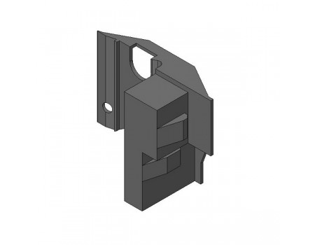 Уголок-держатель дна (при ширине корпуса ≥ 750 мм)