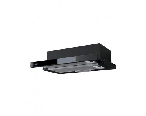 Вытяжка выдвижная(слайдер) LEX HUBBLE G 2M 600 BLACK