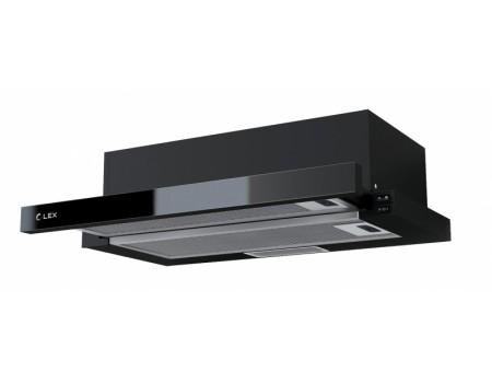 Кухонная вытяжка HUBBLE G 600 BLACK