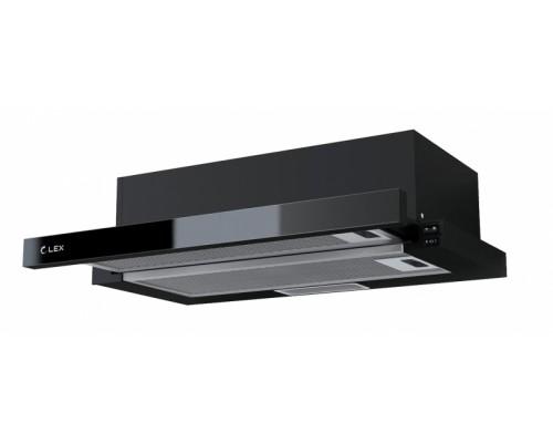 Вытяжка выдвижная(слайдер) LEX HUBBLE G 600 BLACK