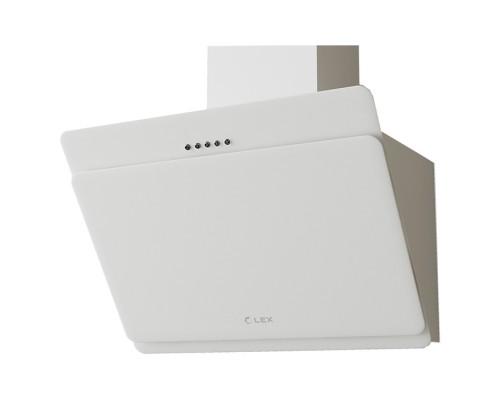 Вытяжка каминного типа LEX LUKA 600 WHITE