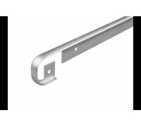 Планка 28 мм., Т-образная, матовая, (Скиф)