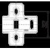 Мебельная петля H302A02/2410